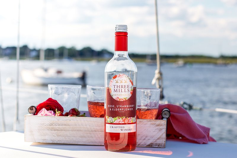 Three Mills Botanicals Rose, Strawberry & Elderflower